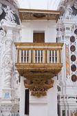 多明我会教堂。sternatia。普利亚大区。意大利. — 图库照片