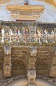 Andrichi-moschettini palace. martano. puglia. italië. — Stockfoto