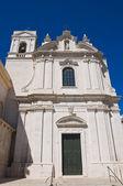 Kyrkan av st agostino. trani. puglia. italien. — Stockfoto