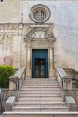 Mutterkirche st. nicola. corigliano d ' otranto. puglia. italien. — Stockfoto
