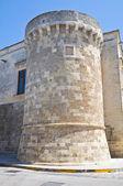 The Aragonese Castle of Martano. Puglia. Italy. — Stock Photo