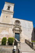 St. Nicola Mother Church. Corigliano d'Otranto. Puglia. Italy. — Stock Photo