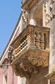 Arcudi palace. Soleto. Puglia. Italy. — Stock Photo