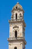 Mother Church of SS Assumption. Sternatia. Puglia. Italy. — Stock Photo