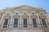 Curci Theatre. Barletta. Puglia. Italy. — Stock Photo