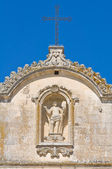 Mother Church of St. Giorgio. Melpignano. Puglia. Italy. — Stock Photo