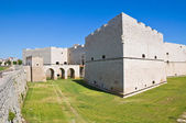 Castle of Barletta. Puglia. Italy. — Stock Photo