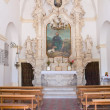 Church of Annunziata. Sternatia. Puglia. Italy. — Foto de Stock