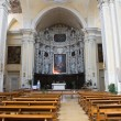 Church of the Jesus. Lecce. Puglia. Italy. - Zdjęcie stockowe