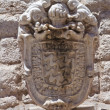 Stock Photo: Bonelli coat of arms. Barletta. Puglia. Italy.