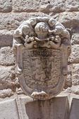 Bonelli coat of arms. Barletta. Puglia. Italy. — Stock Photo
