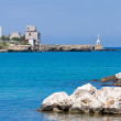 Panoramic view of Otranto. Puglia. Italy. - Foto de Stock