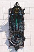 The wonder clock of Lecce. Puglia. Italy. — Stock Photo