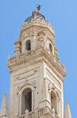 Campanario de la catedral. lecce. puglia. italia. — Foto de Stock