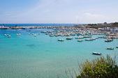 Panoramic view of Otranto. Puglia. Italy. — Fotografia Stock