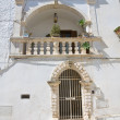 Mileti palace. Ostuni. Puglia. Italy. - Stock Photo