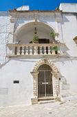 Mileti palace. Ostuni. Puglia. Italy. — Stock Photo