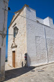 Church of St. Maria della Stella. Ostuni. Puglia. Italy. — Stock Photo