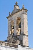 Iglesia de santa maría della stella. ostuni. puglia. italia. — Foto de Stock