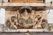 Bishop's palace. Ostuni. Puglia. Italy. — Stok fotoğraf