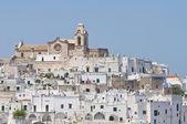 Panoramic view of Ostuni. Puglia. Italy. — Stock Photo