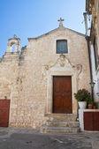 Church of Madonna del Carmine. Ostuni. Puglia. Italy. — Stock Photo