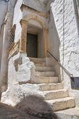 Historical palace. Ostuni. Puglia. Italy. — Stock Photo
