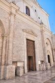 Basilica of Santo Sepolcro. Barletta. Puglia. Italy. — Foto de Stock