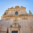 Church of St. Vito. Ostuni. Puglia. Italy. - Stockfoto