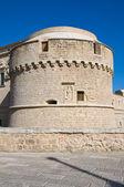 De Monti Castle of Corigliano d'Otranto. Puglia. Italy. — Stockfoto