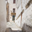 Alleyway. Ostuni. Puglia. Italy. — Stock Photo