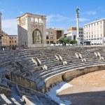 Roman Amphitheatre. Lecce. Puglia. Italy. — Stock Photo #11476522