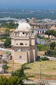 Madonna della Grata Sanctuary. Ostuni. Puglia. Italy. — Stock Photo