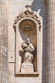 Church of Carmine. Ostuni. Puglia. Italy. — Fotografia Stock