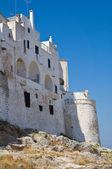 Wehrmauer. Ostuni. Puglia. Italien. — Stockfoto