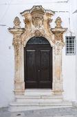Ghionda palace. ostuni. puglia. italien. — Stockfoto