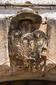 Bishop's palace. Ostuni. Puglia. Italy. — Foto de Stock