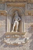 De Monti Castle of Corigliano d'Otranto. Puglia. Italy. — Foto de Stock