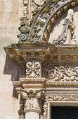 St. Nicola Mother Church. Corigliano d'Otranto. Puglia. Italy. — Stock Photo