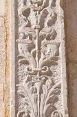 St. Stefans katedral. Acquaviva delle fonti. Puglia. Italien. — Stockfoto