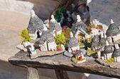 Alberobello souvenirs. — Stock Photo