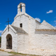 St. Maria di Barsento Church. Noci. Puglia. Italy. — Stock Photo