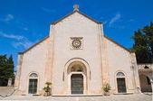 Madonna della Scala Abbey. Noci. Puglia. Italy. — Stock Photo