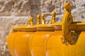 Ceramic Museum. Episcopio Castle. Grottaglie. Puglia. Italy. — Stock Photo