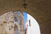 Alleyway. Grottaglie. Puglia. Italy. — Stockfoto