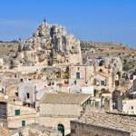 Madonna de Idris. Sassi of Matera. Basilicata. Italy. — Stock Photo