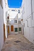 Alleyway. Martina Franca. Puglia. Italy. — Foto de Stock