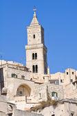 Katedra w miejscowości matera. basilicata. włochy. — Zdjęcie stockowe