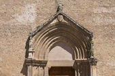 Iglesia santuario de san francesco. lucera. puglia. italia. — Foto de Stock