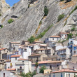 Panoramic view of Pietrapertosa. Basilicata. Italy. — 图库照片